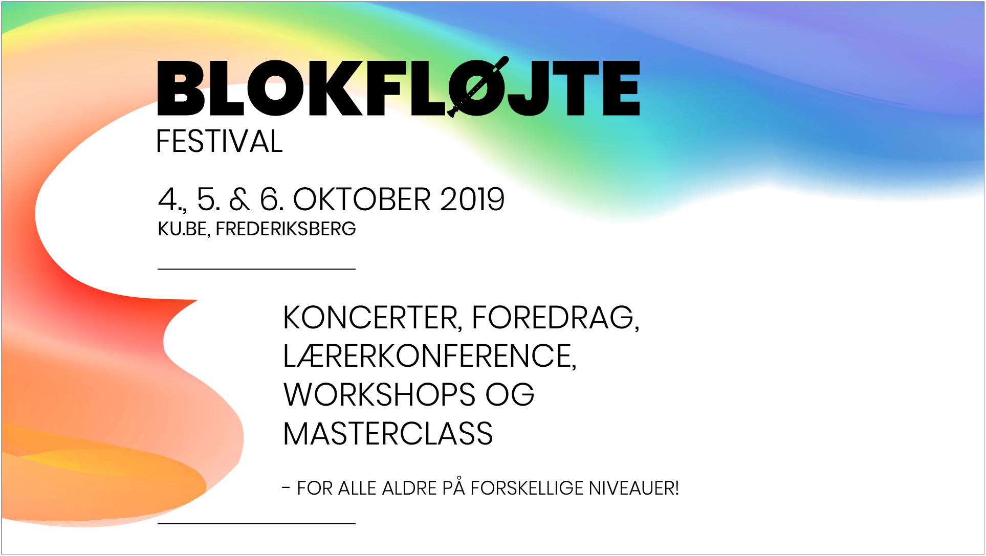 Blokfloejtefestival header image